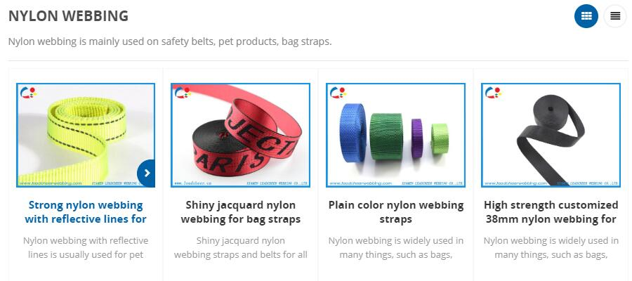 where to buy nylon webbing