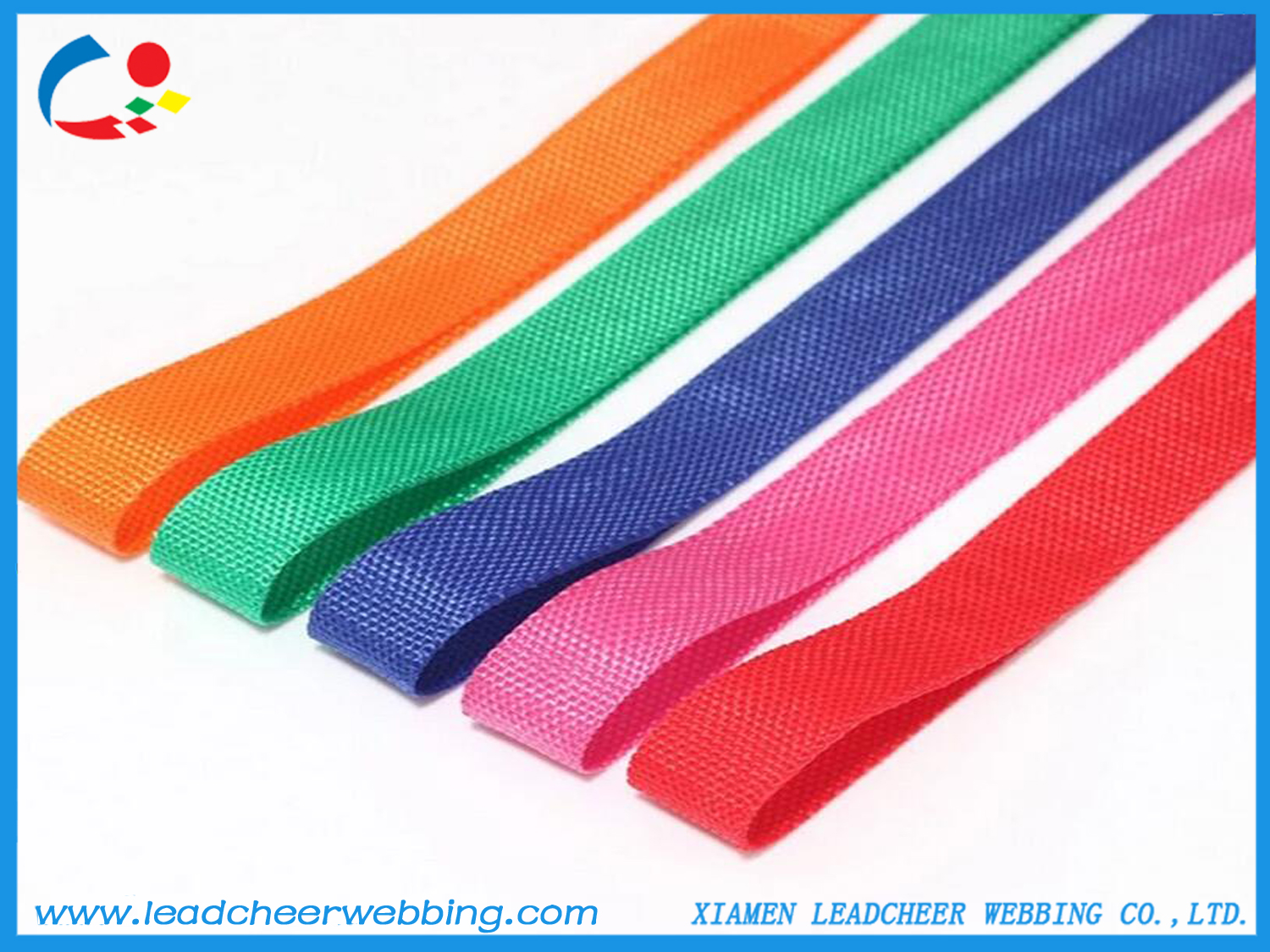 light weight polypropylene webbing