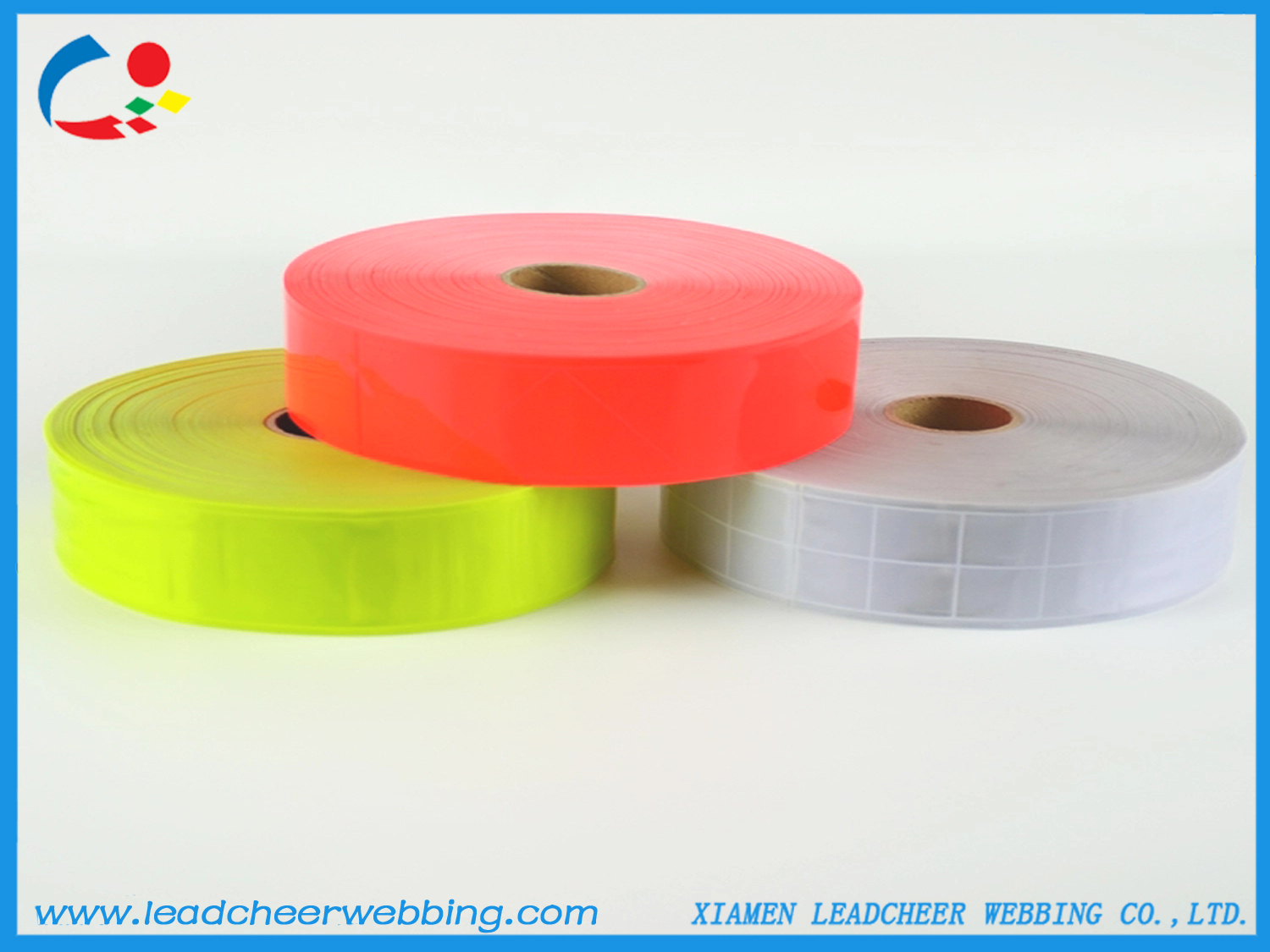 PVC Reflective Lattice Tape for Safety Vest
